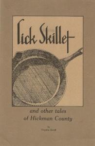 Lick Skillet Cover & Back copy